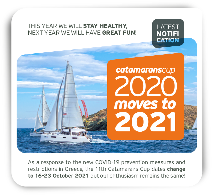 Catamarans Cup postponed for 2021